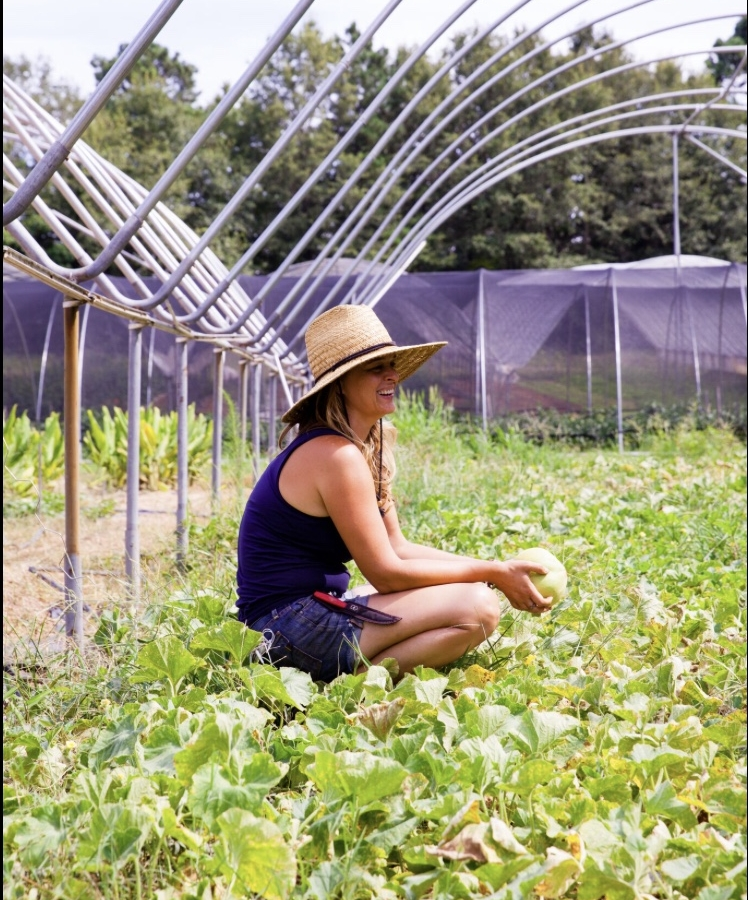 It was the healing nourishing energy of plants that brought Jeni to organic farming. With a focus on growing medicinal herbs and flowers, she also oversees our farm box program.
