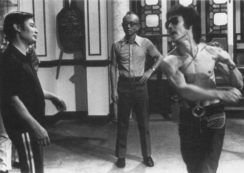 Wong Shun Leung and Bruce Lee