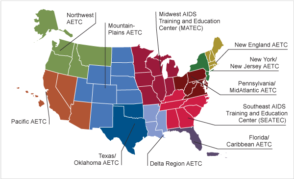 The NY/NJ AETC is part of a national network of AIDS Education and Training Centers (AETCs), administered by the Health Resources and Services Administration (HRSA) HIV/AIDS Bureau.