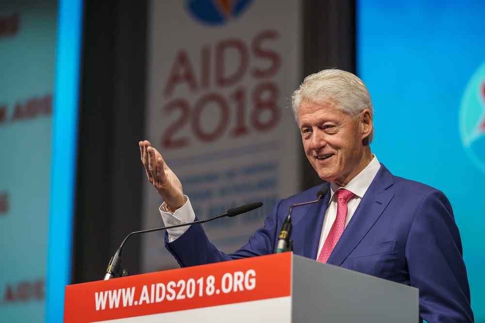 Keynote speaker: President Clinton