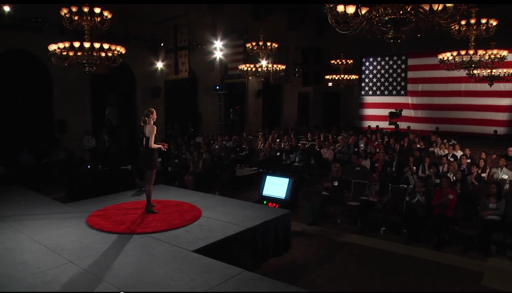 Our 2014-2015 Fulbright NY Alumna-in-Residence, Rebecca Davis, speaking at TEDxFulbright