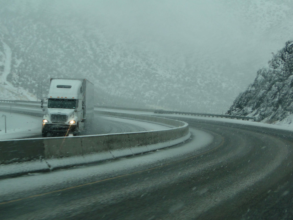 Severe weather in the Northeast is leading to travel bans and missed pickups and deliveries as a result. That could drive up rates in the days ahead as carriers and shippers recover. (Photo: Shutterstock)