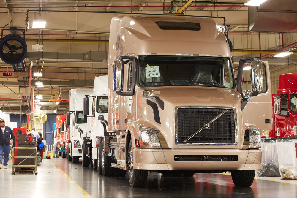 For three consecutive months, new truck orders have increased. ( Photo: Volvo Trucks )