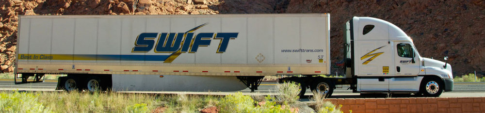 Under terms of the announced merger, both Swift Transportation and Knight Transportation will continue to operate as separate brands.
