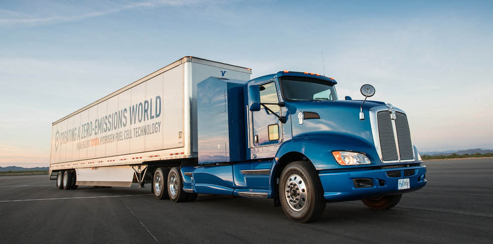 Toyota Hydrogen truck