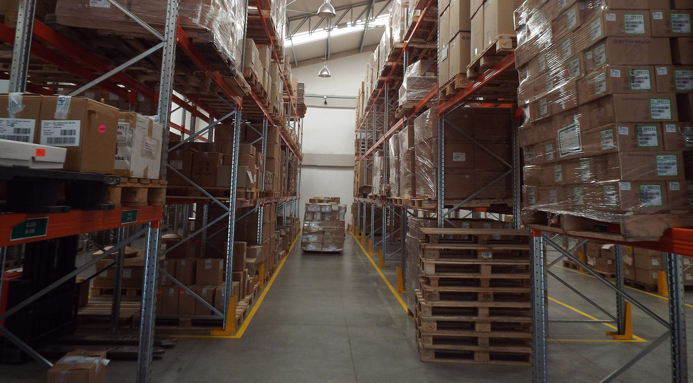 OmniTrail micro-location chips could help warehouse workers locate boxes and pallets quicker.