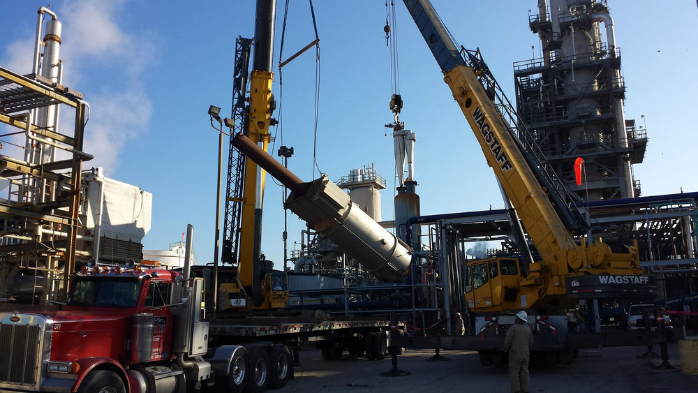 The boom in oil drilling is also leading to an increased number of flatbed loads moving equipment between sites.
