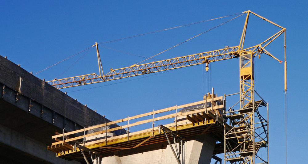 Construction crane