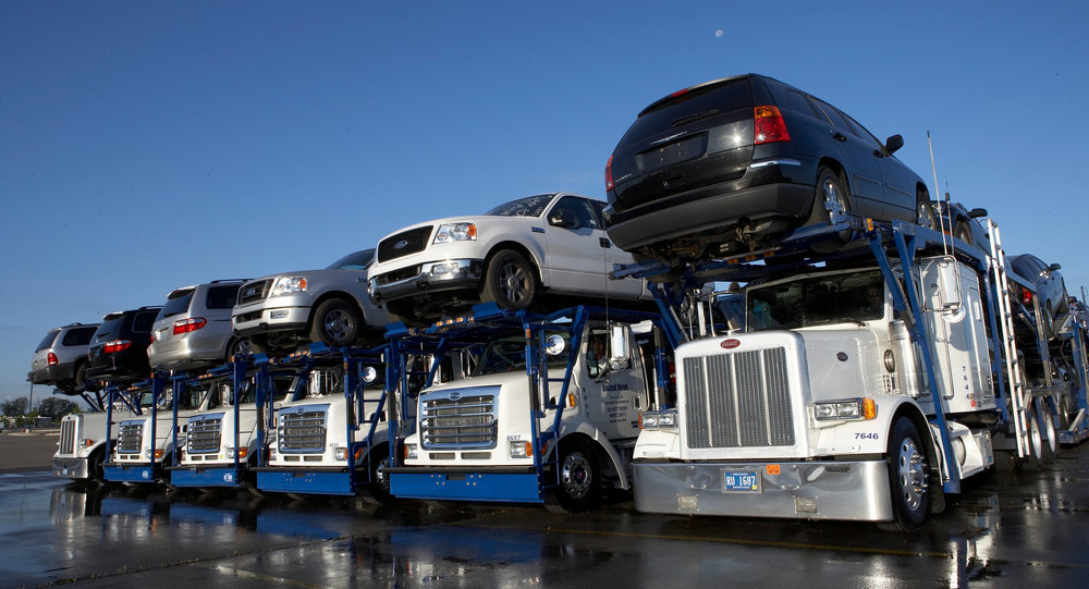 With an expected 16 million new cars to be sold this year, auto haulers have plenty of product to move. But that may not continue as ride-sharing services and longer-lasting electric vehicles cut into the sales of those vehicles.