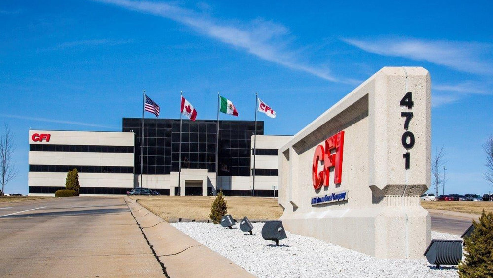 The CFI name is once again affixed to the headquarters of the truckload carrier in Joplin, MO.