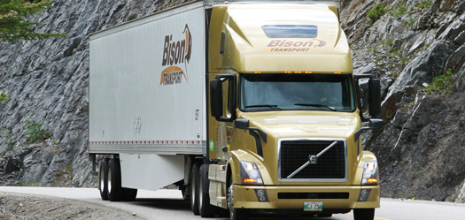 Bison Transport of Winnipeg was last year's winner in the Best Fleets to Drive For large fleet category.