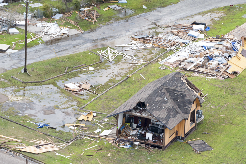 Destruction from Hurricane Harvey in Rockport, TX. (Photo: Shutterstock)