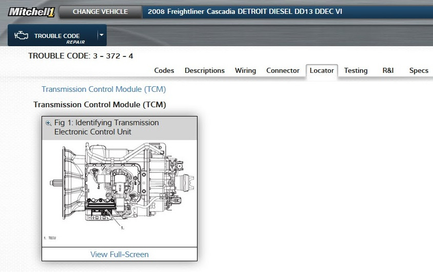 Mitchell 1's RepairConnect now includes transmission and ABS repair information.