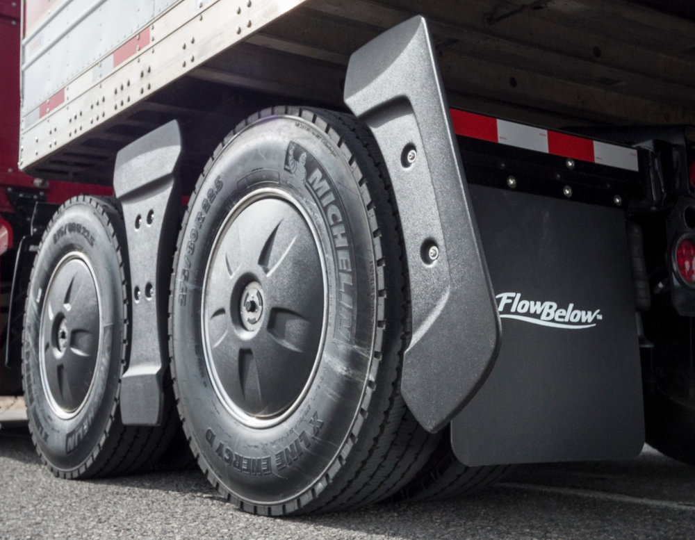 FlowBelow has added a fastener system to allow for the easy removal of the center panel of its system in just seconds to provide access to maintenance, inspections and for situations where chains need to be installed on tires for adverse weather conditions