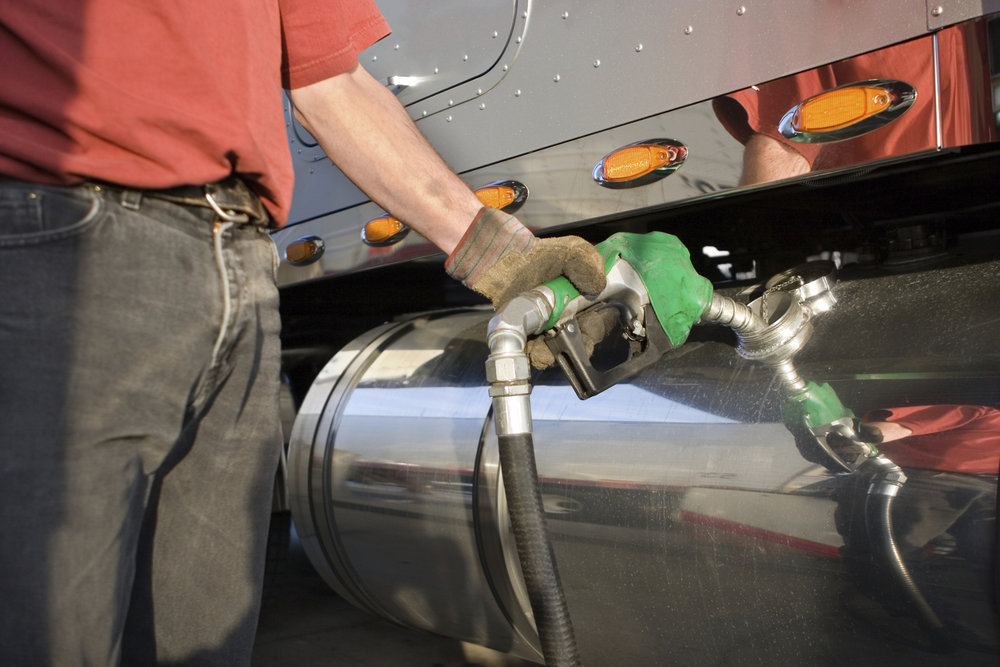 Fuel surcharges are often based on the DOE's weekly fuel averages, but the problem with that is the averages are historical numbers and not reflective of real-time fuel prices. ( Photo: Shutterstock )