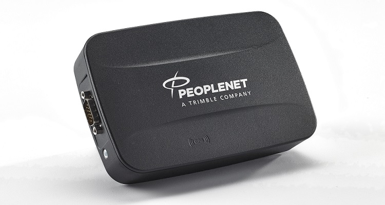 The PeopleNet PCG gateway offers 4G LTE connectivity.