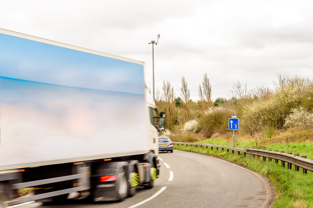 Some 28% of all miles driven by trucks in England are empty. ( Photo: Shutterstock )
