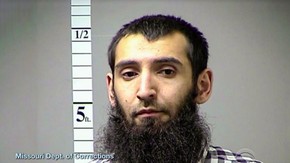 Saipov was booked in Missouri in 2016 for missing a court date related to faulty brakes on his semi.