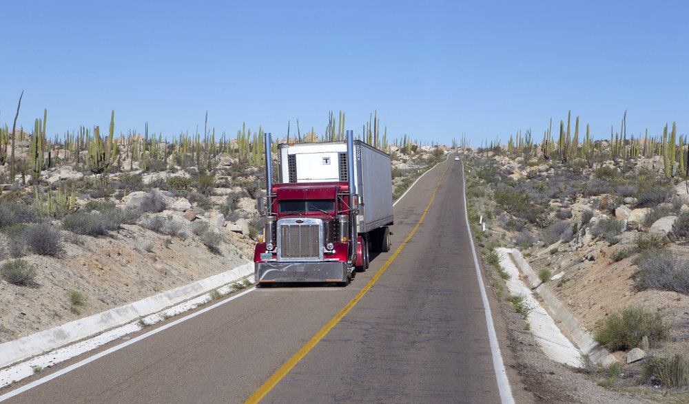 U.S. negotiators have pushed to ban Mexican trucks from entering the U.S. as part of NAFTA talks. ( Photo: Shutterstock )