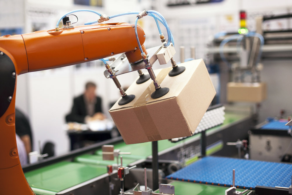 Robots are already working alongside humans in the supply chain, and more advances in robotics are increasing the roles they can play. ( Photo: Shutterstock )