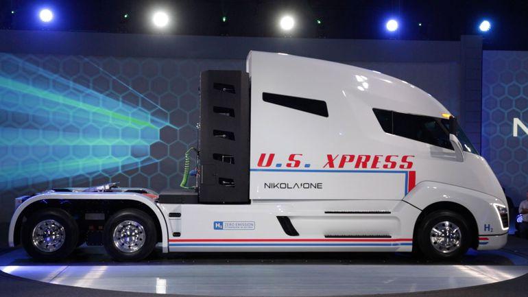 Nikola's H2 fuel-cell truck