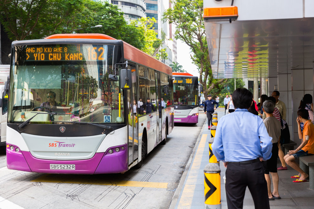 Singapore will be testing self-driving buses which will operate among traffic in certain areas of the city beginning in 2022.