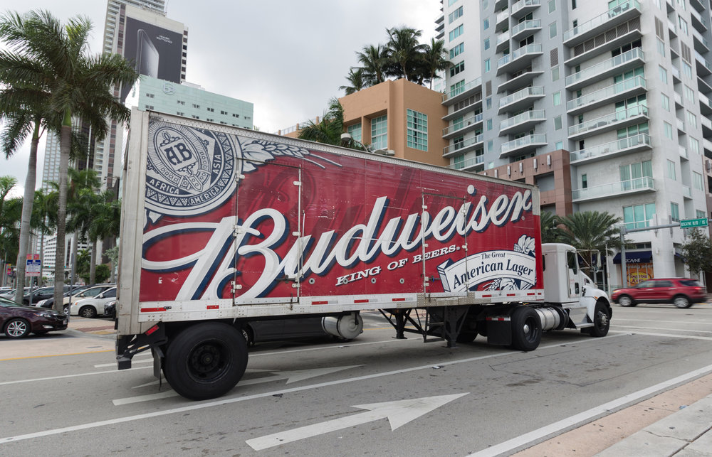 Anheuser-Busch has reserved 40 Tesla Semi electric tractors, according to the company. ( Photo: Shutterstock )
