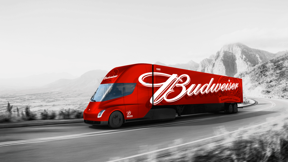 The Budweiser brewer says this is part of its strategy to reduce the company's carbon emissions by 30% by 2025.  (Photo: artist rendition by Jason Fouts)