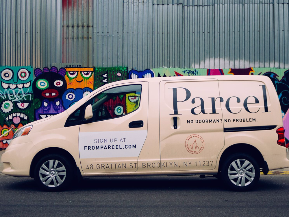 Parcel uses company-owned cargo vans, while Shipt personal shoppers make deliveries in their own vehicles.