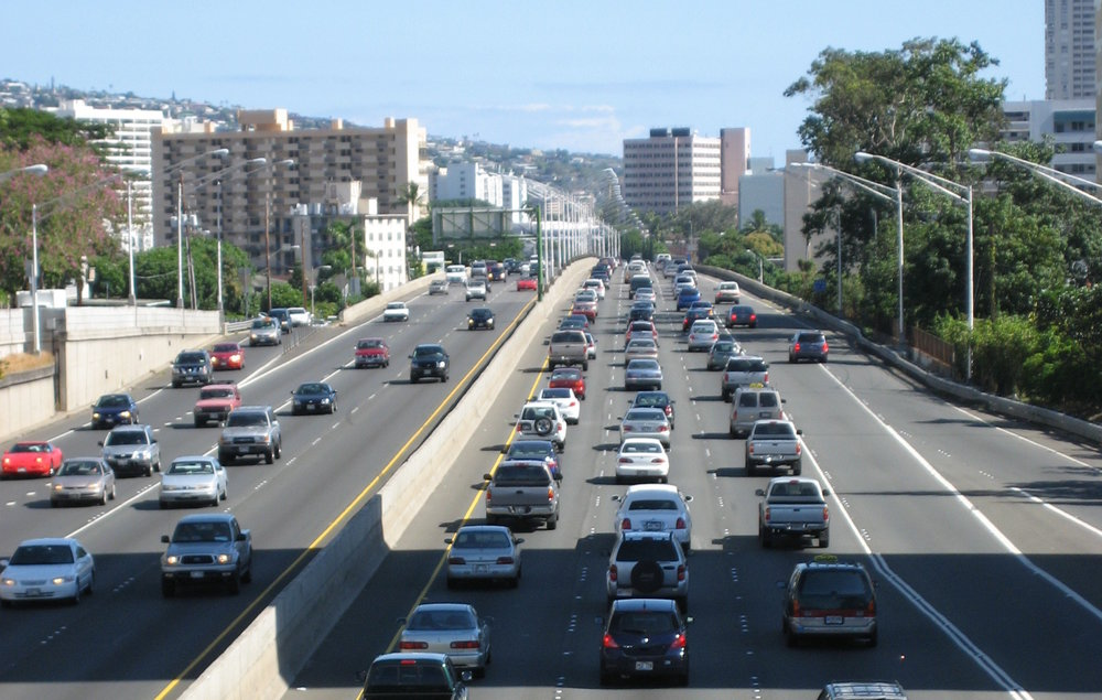 Hawaii wants to move away from fossil fuels by 2045 for its transportation.   (Photo: Wikimedia Commons/Peter Gill)