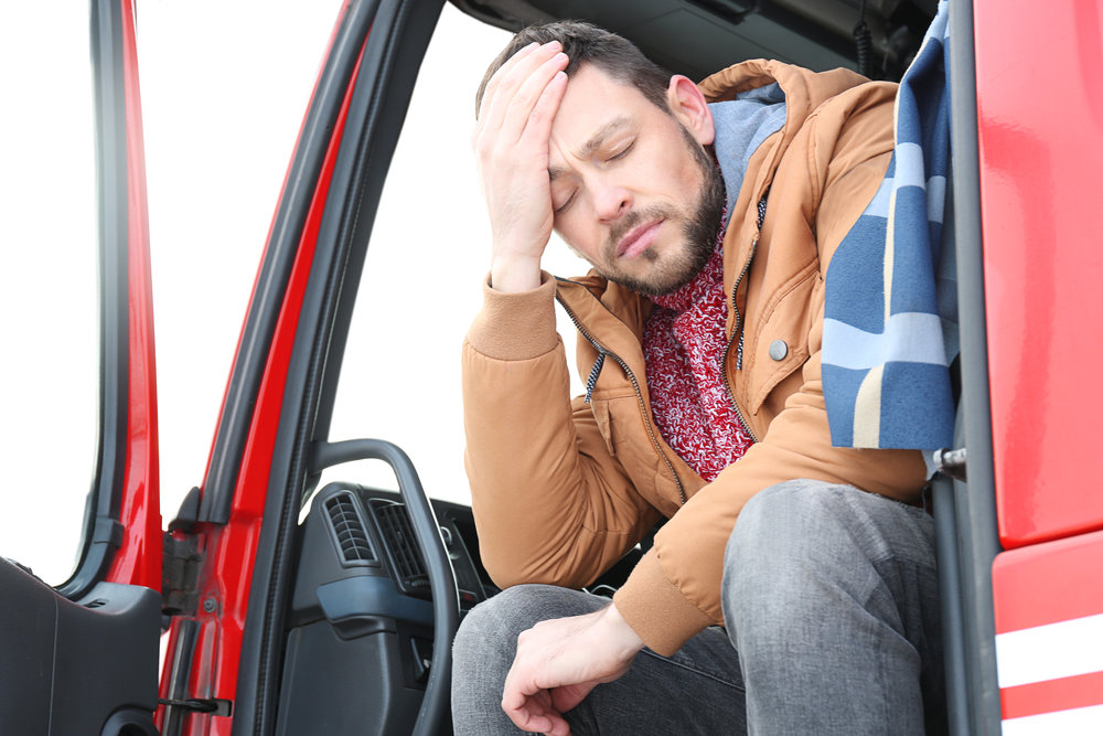 The Federal Motor Carrier Safety Administration (FMCSA) is taking a survey of truck drivers' commutes to and from work. (Photo/Shutterstock)
