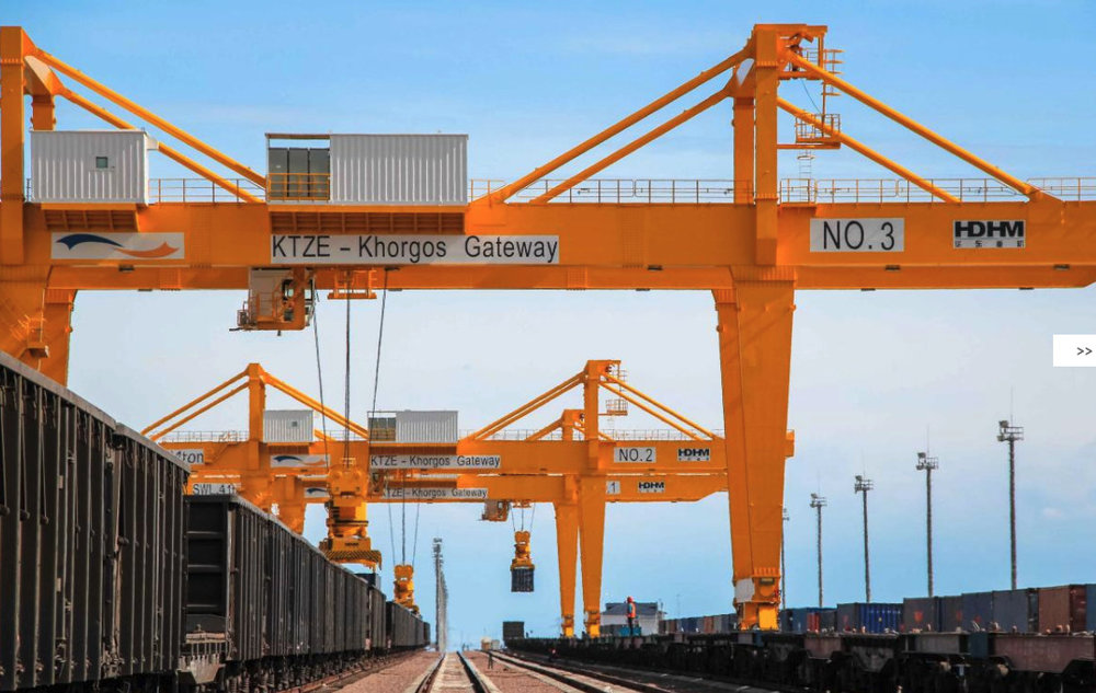 Khorgos Gateway is a landlocked port, but China sees great value in its potential.