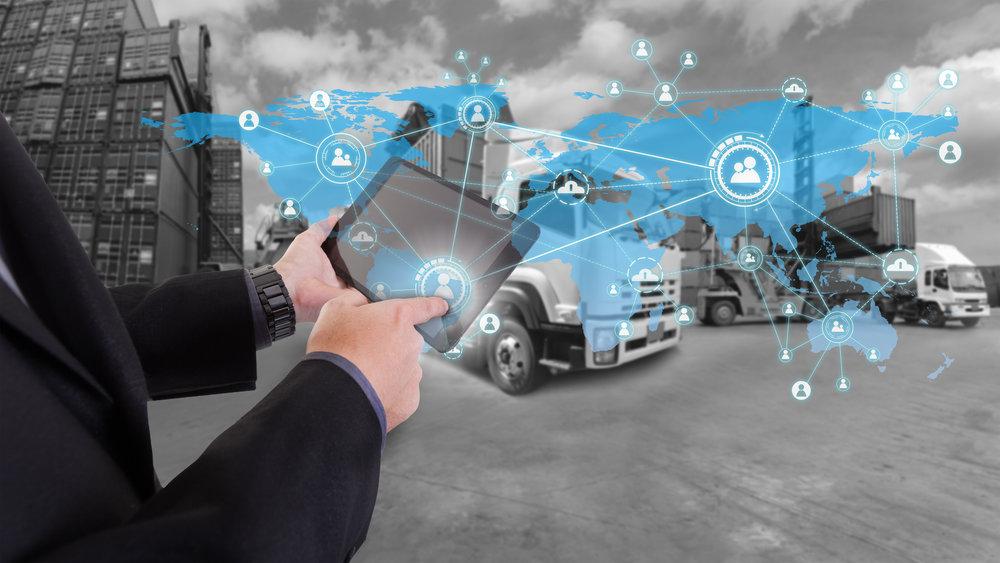 "It's not just an ""Internet of Things"" fantasy. 2018 is the year of transport transparency and efficiency. (Photo/Shutterstock)"