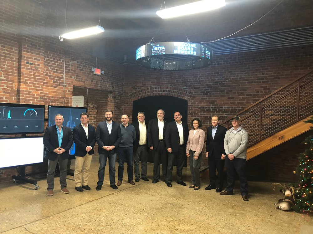 The BiTA board gathered in Chattanooga in December 2017.