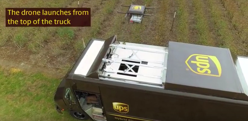 UPS has been testing the use of drones for last-mile delivery. The Teamsters have put forth a contract proposal that would ban the use of drones.