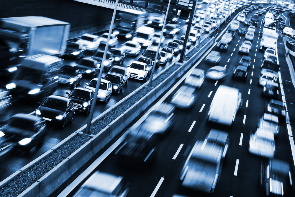 Traffic congestion is only getting worse on US highways, costing everyone in the supply chain. (Photo/Shutterstock)