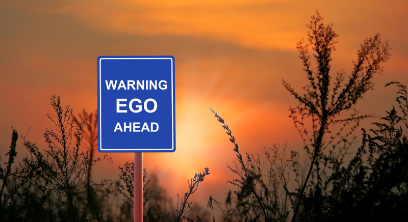When ego gets in the way of sound business decisions, it costs companies money. ( Photo: Shutterstock )