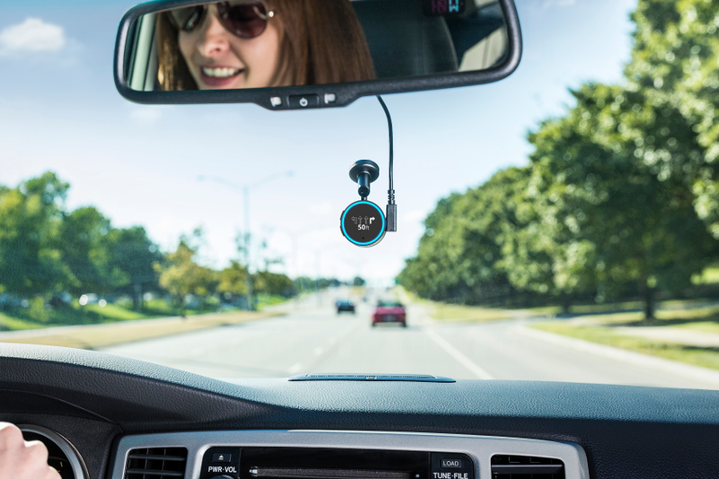 The Garmin Speak device is now enabled with Alexa, helping drivers of both passenger vehicles and cargo vehicles stay up to date on traffic and navigation, or simply entertainment.