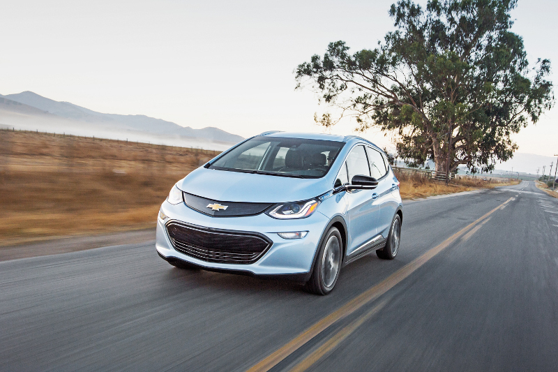 GM recently conducted a series of autonomous vehicle tests with its all-electric Chevrolet Bolt.