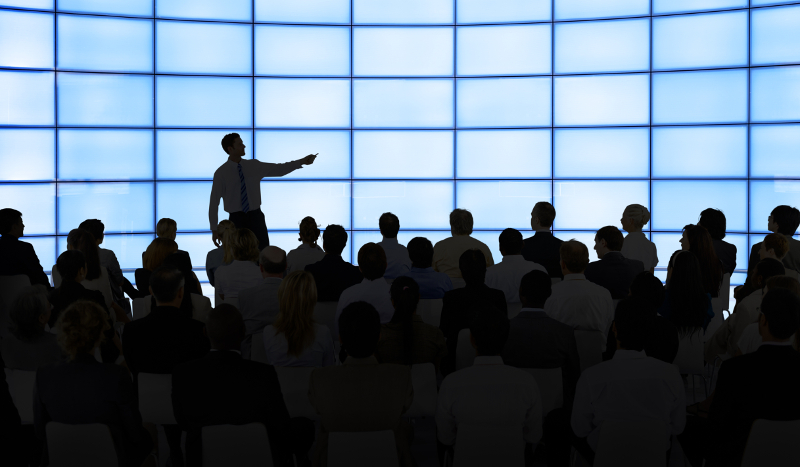 Companies will be given 7 minutes to present their latest solutions to TRANSPARENCY18 attendees as part of Demo Day. ( Photo: Shutterstock )