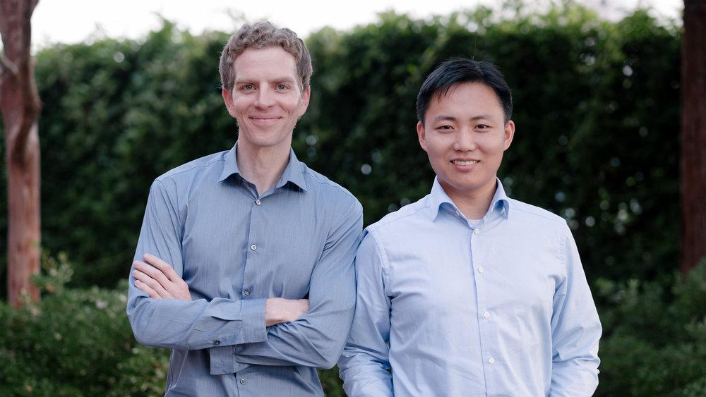 Meet the Nuro co-founders,Dave Ferguson and Jiajun Zhu. (Photo: Nuro)