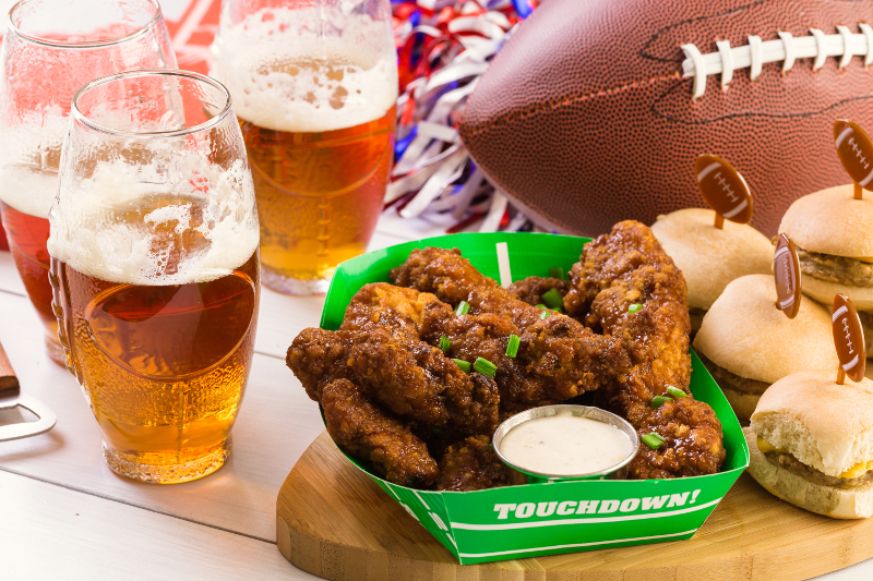 Fans don't care how their Super Bowl snacks arrive at their parties, but companies do. That's why technology and transparency is so important in ensuring time-sensitive shipments arrive in time for big events. ( Photo: Shutterstock )