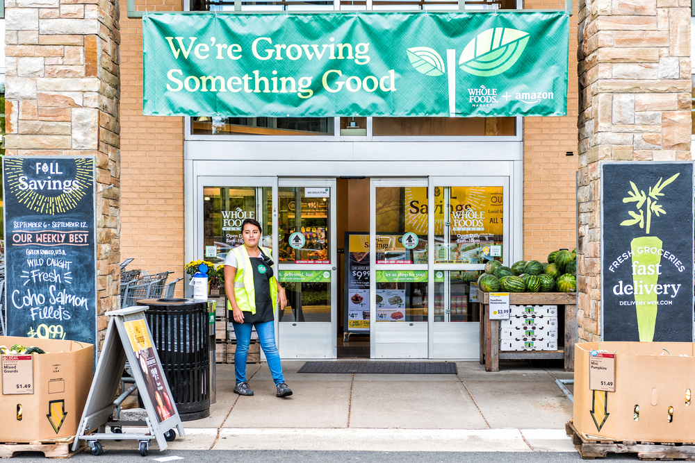 Amazon is rolling out free two-hour delivery of Whole Foods groceries through its Prime Now service starting today. (Photo: Shutterstock)