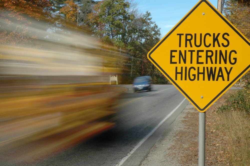 Keeping trucks and cars on their own separate highway? Sounds like a $1.8 billion plan. (Photo: Shutterstock)