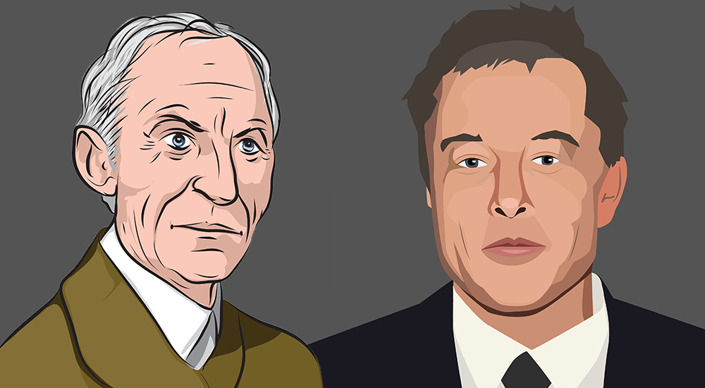 Musk looks better now, but then again he's much younger. (Photo: Shutterstock/Barry Carpenter)