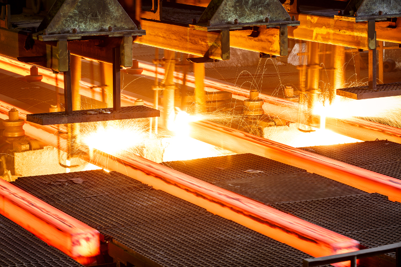 Tariffs on steel would have a ripple effect throughout the U.S. economy. ( Photo: Shutterstock )