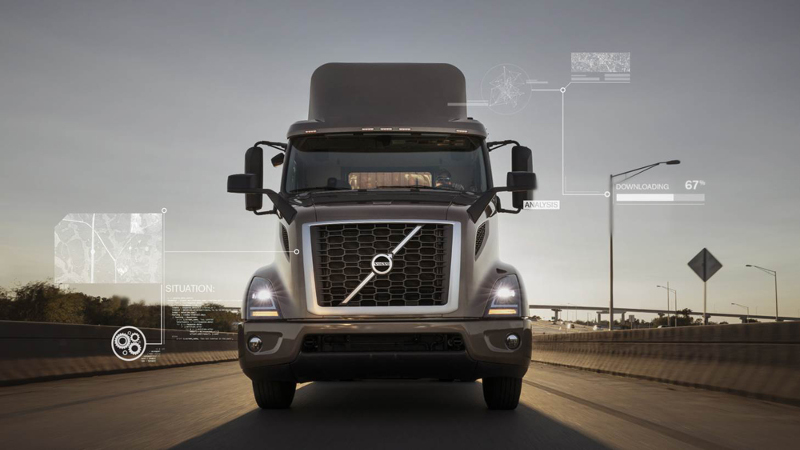 Volvo's remote programming can update a truck's operating parameters in about 20 minutes.