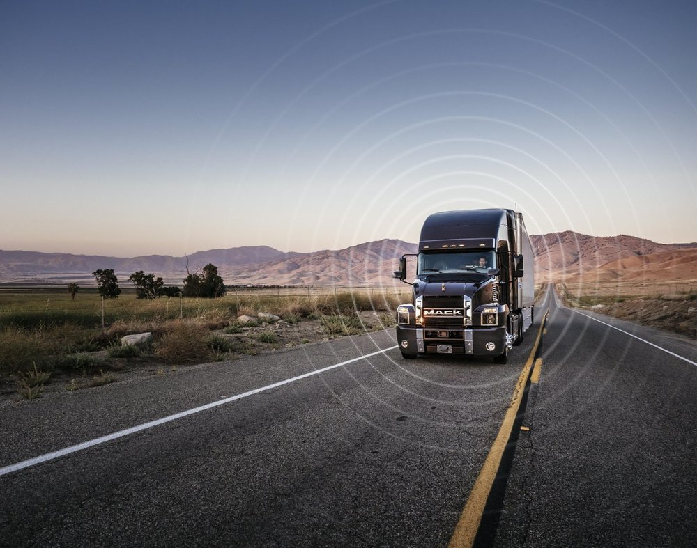 Mack Trucks showcased downtime reductions from their Over the Air system. ( Photo: Mack Trucks )