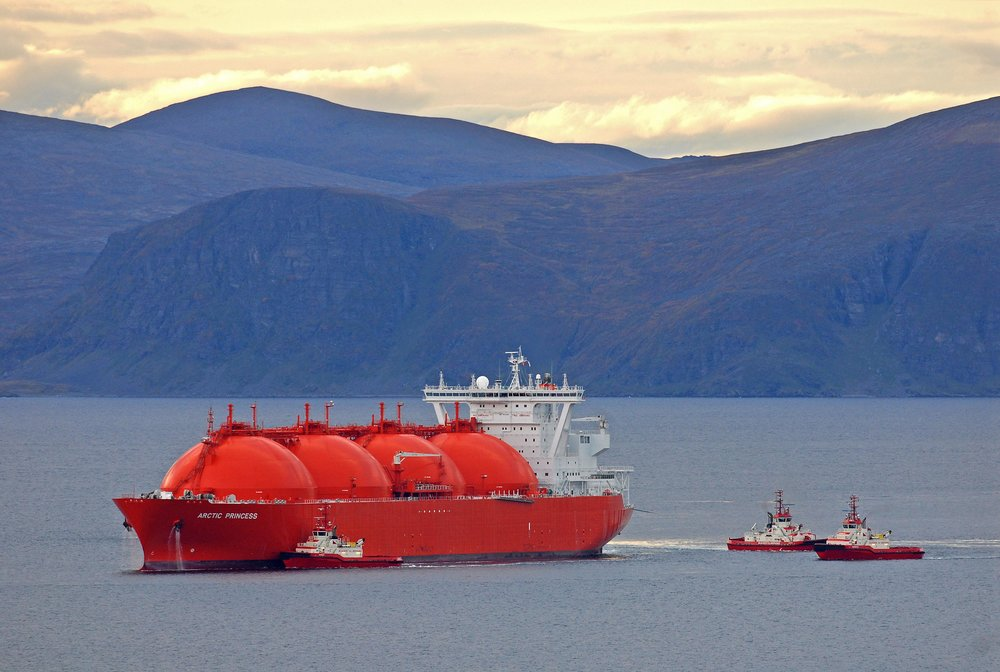 The Höegh Arctic Princess, an LNG carrier servicing Norway's Statoil. ( Photo: Höegh LNG )