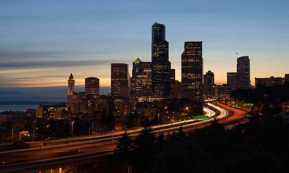 The Seattle skyline. ( Photo: Wikimedia Commons )
